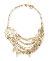 Lulu Frost Quest Statement Necklace Gold