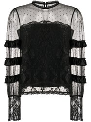 Temperley London Tiered Lace Blouse 60