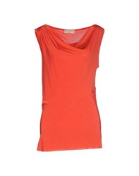 Met And Friends Topwear Tops Women Red