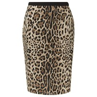Precis Petite Animal Print Skirt Multi Brown