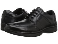Hush Puppies Leader Henson Black Leather Men's Lace Up Casual Shoes