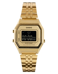 Casio La680wega Mini Digital Gold Watch