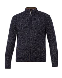 Ted Baker Men's Akela Funnel Neck Cardigan Navy