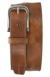 Trask Men's Leather Belt Tan