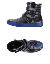 Bb Washed By Bruno Bordese Footwear High Tops And Trainers Men Pastel Blue