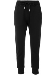 Dsquared2 Heart Patch Track Pants Black
