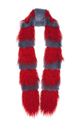 Shrimps Marnie Scarf Red