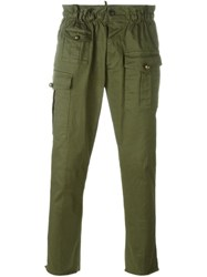 Dsquared2 Cargo Trousers Green