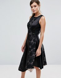 Coast Wendal Asymetric Panel Dress Multi