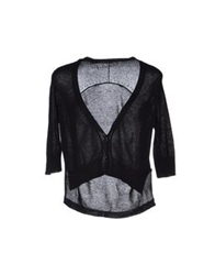 Chiara Bertani Wrap Cardigans Black