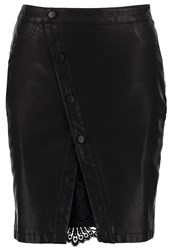 Noisy May Nmmuss Pencil Skirt Black