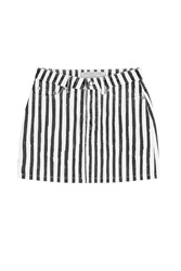 Marc By Marc Jacobs Striped Denim Skirt Multicolor