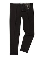 Replay Slim Fit Wool Blend Trousers Black