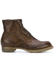 Guidi Laceless Boots Brown