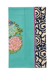 Lisa Corti King Floral Cotton Table Runner