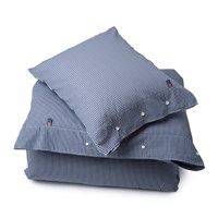 Lexington Seaside Check Duvet Cover Navy Double