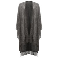 Damsel In A Dress Sabia Shawl Silver
