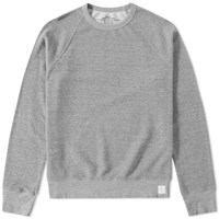 Save Khaki French Terry Crew Sweat Grey