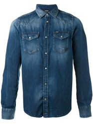 Diesel Denim Shirt Blue