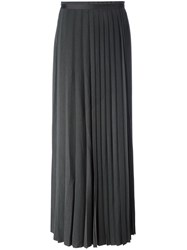 A.F.Vandevorst 'Saturday' Maxi Skirt Grey