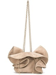 Nina Ricci 'Lily' Shoulder Bag Nude Neutrals