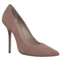 Kurt Geiger Ellie High Heel Court Shoes Taupe Suede