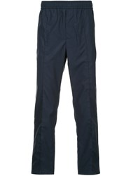 Ck Calvin Klein Refined Cropped Track Pants Blue