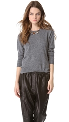 Equipment Sloane Cashmere Sweater Heather Grey