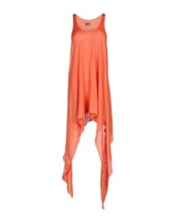 L.G.B. Short Dresses Orange