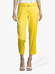 Betty And Co. Cropped Trousers Freesia