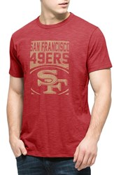 Men's 47 Brand 'San Francisco 49Ers Scrum' Graphic T Shirt