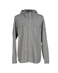 Cheap Monday Shirts Shirts Men Light Grey