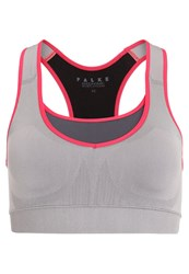Falke Sports Bra Pencil Grey