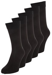 Zalando Essentials 5 Pack Socks Black