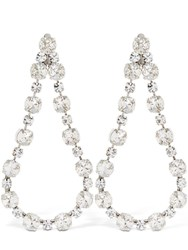 Ca And Lou Victoria Clip On Drop Earrings Crystal