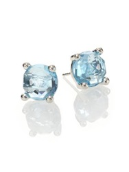 Ippolita Rock Candy Blue Topaz And Sterling Silver Stud Earrings Silver Blue