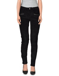 0039 Italy Casual Pants Black