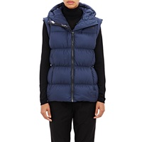The North Face Quilted Tech Fabric Vest Urban Navy H2g