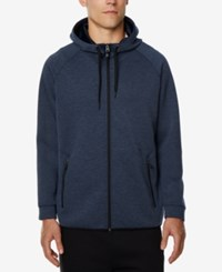 32 Degrees Men's Performance Hooded Sweatshirt Heather Navy