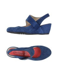 Pas De Rouge Footwear Courts Women Blue