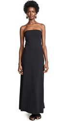 Susana Monaco Strapless Maxi Dress Black
