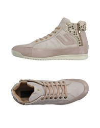 Cesare Paciotti 4Us Footwear Low Tops And Trainers Women Beige