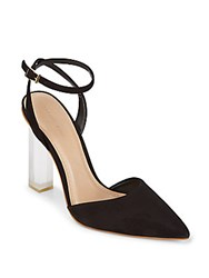 Saks Fifth Avenue Pump Desert Leather Pumps Black