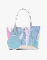 Kara Tie Tote W Pouch In Hologram