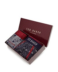 Ted Baker Star Socks And Boxer Briefs Set