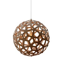 David Trubridge Coral Light Caramel 120Cm