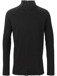 The Viridi Anne The Viridi Anne High Neck Long Sleeve T Shirt Black