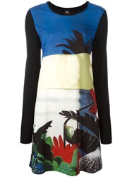 Paul Smith Ps By Floral Print Shift Dress