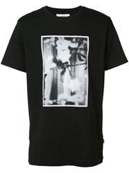 Wesc Max Vertical Beach T Shirt Men Cotton M Black