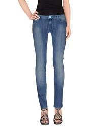 Jfour Denim Denim Trousers Women Blue
